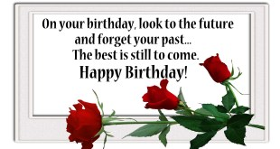 message for birthday wishes 2018