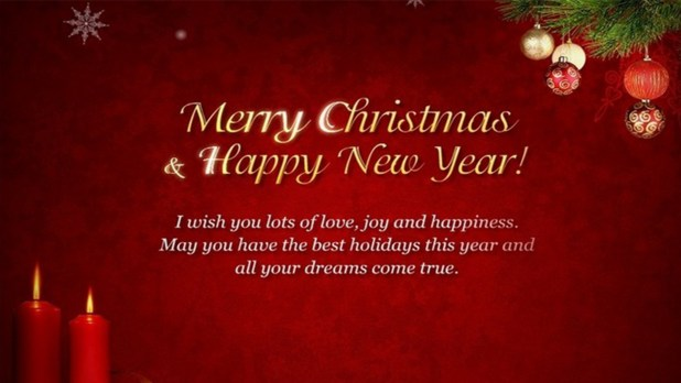merry christmas happy new year hd image
