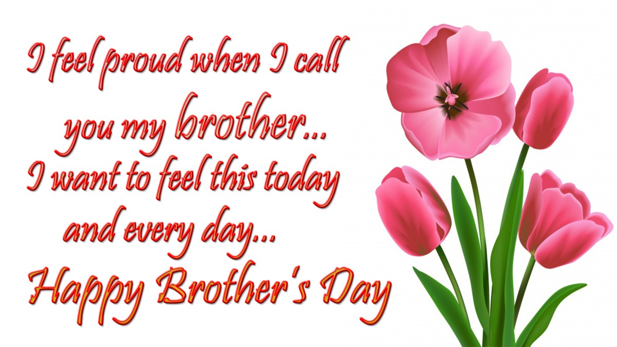 Happy Brothers Day Wishes amp Greetings