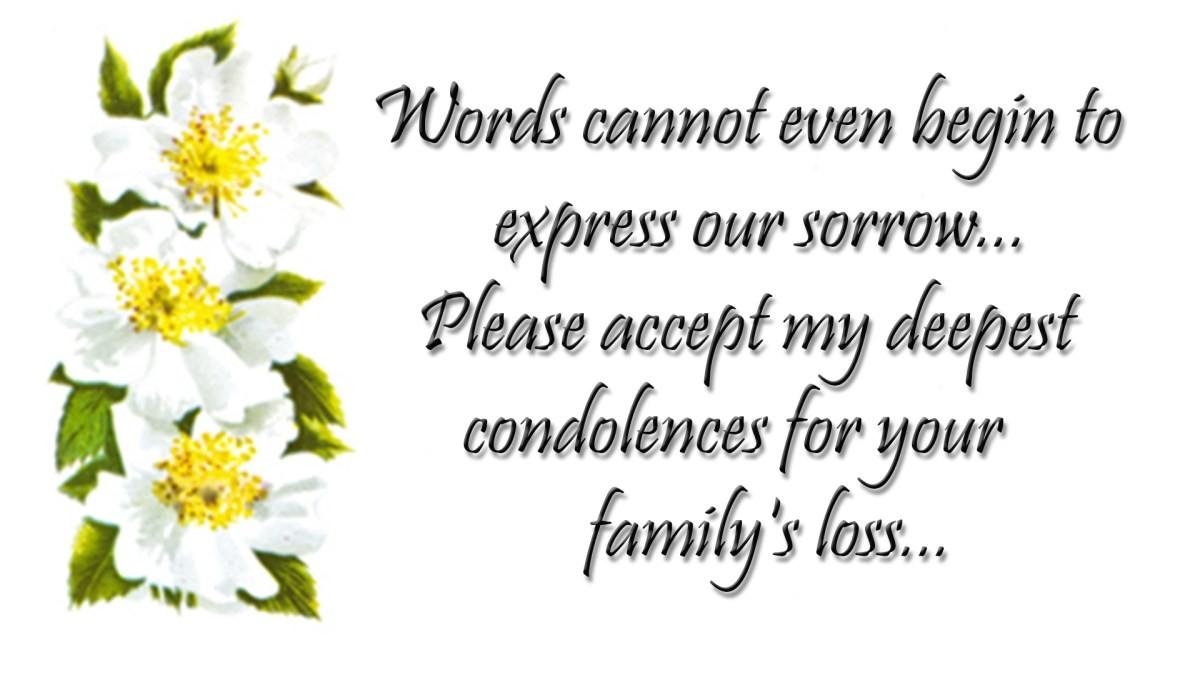 condolences quotes  sympathy messages images free download
