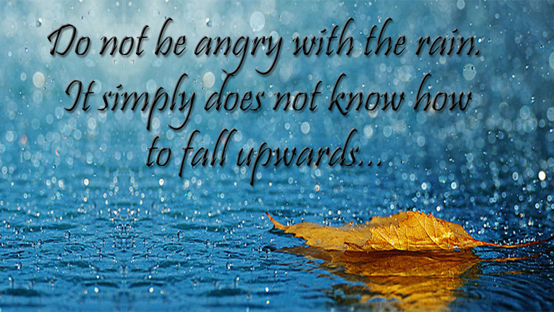 Rain Quotes Images & Pictures | Rainy Day Quotes