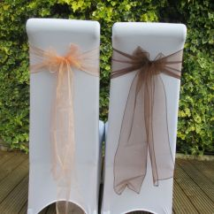 Chair Cover Hire In Birmingham Beadboard With Rail Peach Brown Event Styling And Venue
