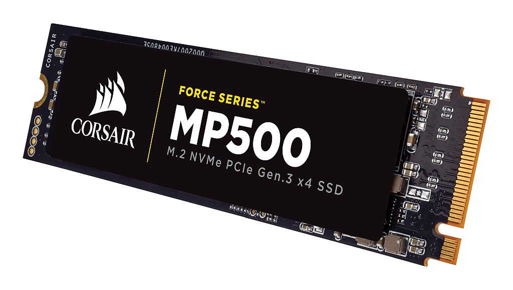 SSD 240GB M.2 80mm PCI-e 3.0 x4 NVMe. MLC. Corsair MP500 CSSD-F240GBMP500 :: Eventus Sistemi