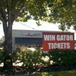 Win UF Gator Tickets at Verizon - Lake City (tags: #VZW, #Gators)