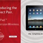iPad Coming to Verizon - October 28th - @MobilityCast (tags: #VZW, #Verizon, #iPad)