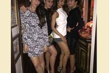 Saif Ali Khan Celebrated His Birthday With Gals Gang
