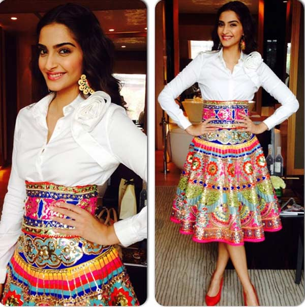 Bollywood Divas Styled In Skirt