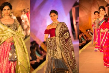"""The Regal Threads"" Manish Malhotra's Love for Benaras and Gujrat Weaves"