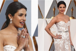 #Oscars2016 : Priyanka Chopra At Oscars Rocks The Fashion Jazz