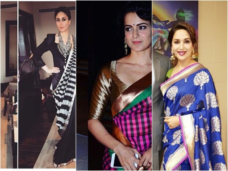 7 Bollywood Divas Who Carry Sari with Elegance