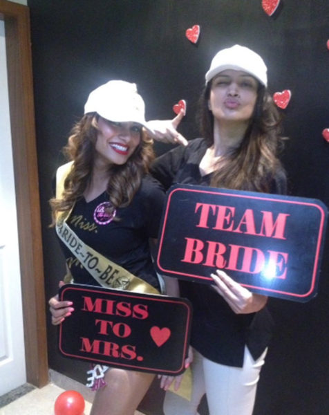 Bipasha Basu's Bridal Shower