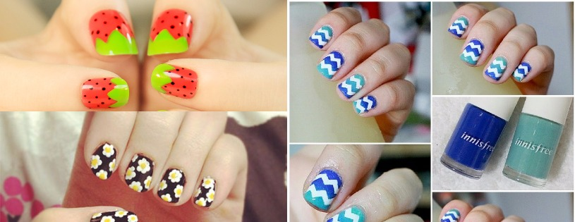 10 Vibrant Nail Arts For a Perfect Summer