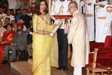 Priyanka Chopra Looks Every Bit Worthy Of The Padmashree As She Receives The Award
