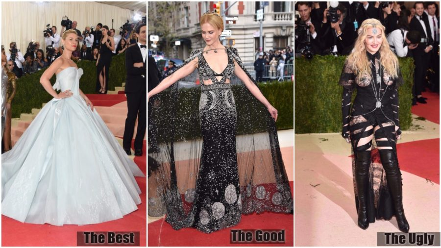 The Good, The Bad, and The Ugly at Met Gala 2016