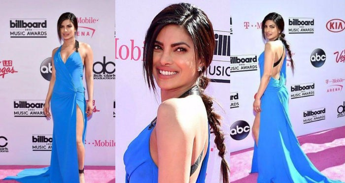 Priyanka Chopra at Billboard Music Awards 2016 in Blue Hues!