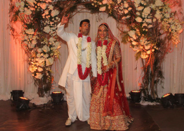 Bipasha Basu and Karan Singh Grover's Monkey Wedding