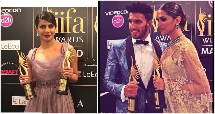 Award Winners List at IIFA 2016: Bajirao Mastani Bags Highest Awards