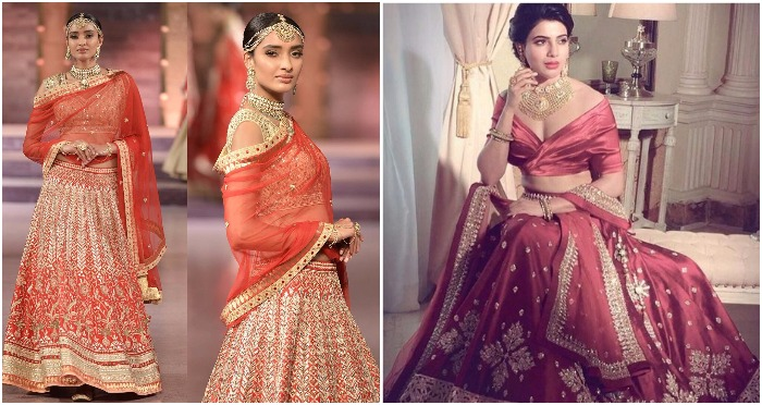 12 Modern Ways Of Draping Designer Bridal Lehenga
