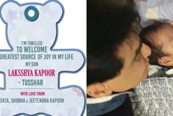 Actor Tusshar Kapoor Becomes Proud Single Dad of Laksshya