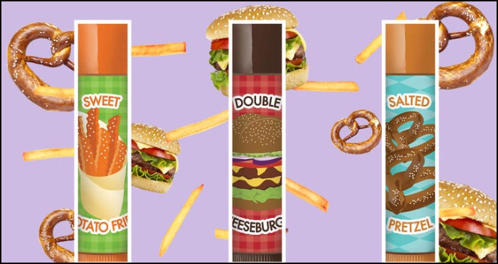 Move Over Fruits! Now Try Cheeseburger,Sweet Potato Fry and Salted Pretzel Lip Balm!