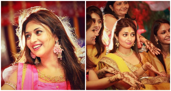 Divyanka Dazzles in Her Haldi and Mehendi Ceremonies ! We Are Just Stunned!
