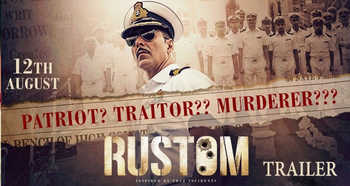 The Akshay Kumar Starring Rustom's Trailer Seems Nail-Bitingly Promising