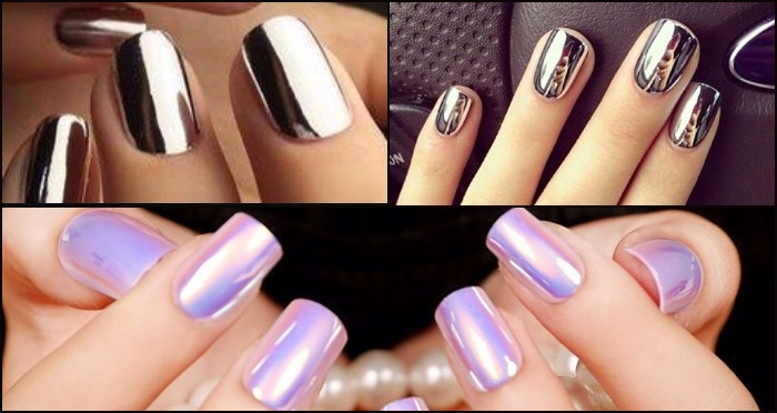 Mirror Nail Polish on Instagram and Pinterest is the New Trend  !