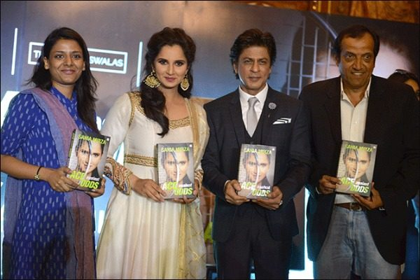 SRK is All Praises for Tennis Star Sania Mirza