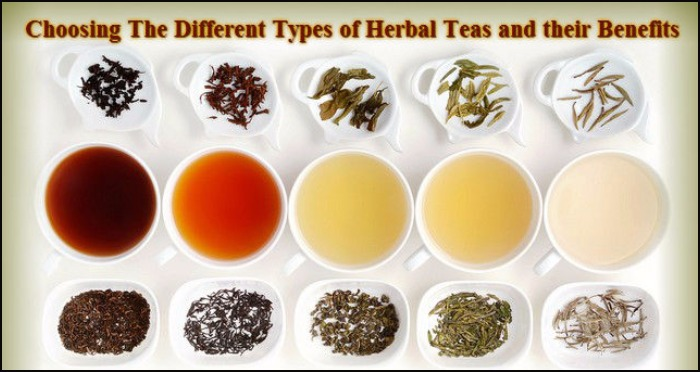 Top 5 Different Types of Herbal Tea and Their Miraculous Benefits