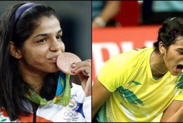 Sakshi Malik and P.V.Sindhu Win Medals and Hearts of Cricketers, Celebs and Commoners Alike!