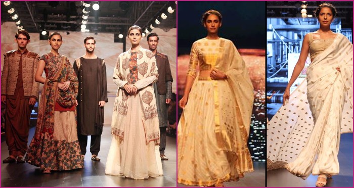 Pastels and Mutes Rock the Sustainable Fashion on Ramp at Lakme Fashion Week Winter Festive 2016