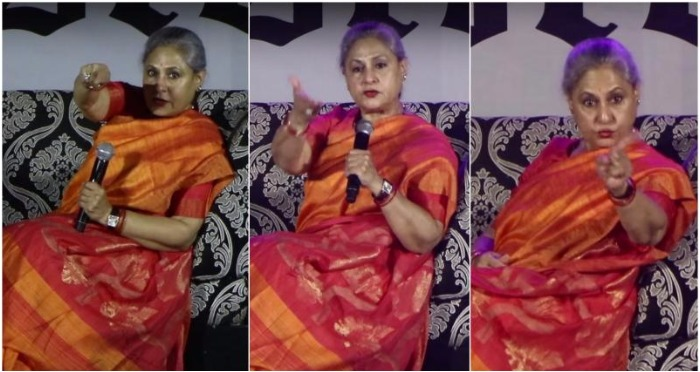 Jaya Bachchan Lashes Out at College Students, Yet Again