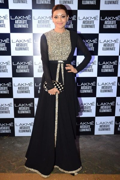 Kajal in Sabyasachi at Lakme Fashion Week 2016