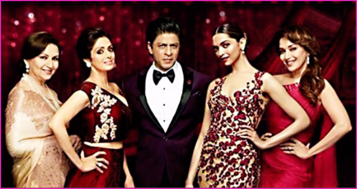 SRK Weaves Golden Magic With These Four Bollywood Beauties in This Commercial