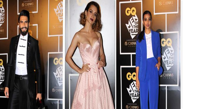 GQ Awards 2016: Ranveer Singh, Kangana Ranaut, Amitabh and Tiger Won the Trophies