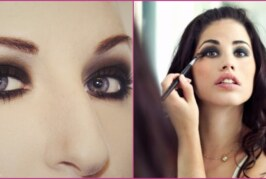 How to Get Quick Smokey Eyes with a Single Kajal Pencil!