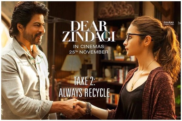 Dear Zindagi Take 2 recycle