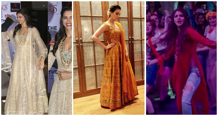 10 Outfits from The Closet of Our Bollywood Divas That Will Transform You into a Cracker, This Diwali