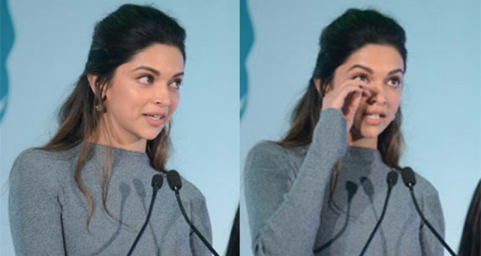 Watch: Deepika Padukone Break Down In Tears While Talking About Depression!