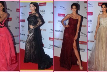 Fashion Diaries: Who Wore What At Filmfare Glamour and Style Awards 2016