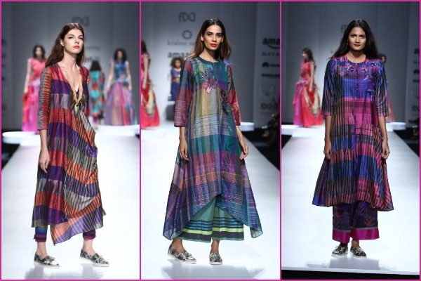Krishna Mehta at #AIFWSS17