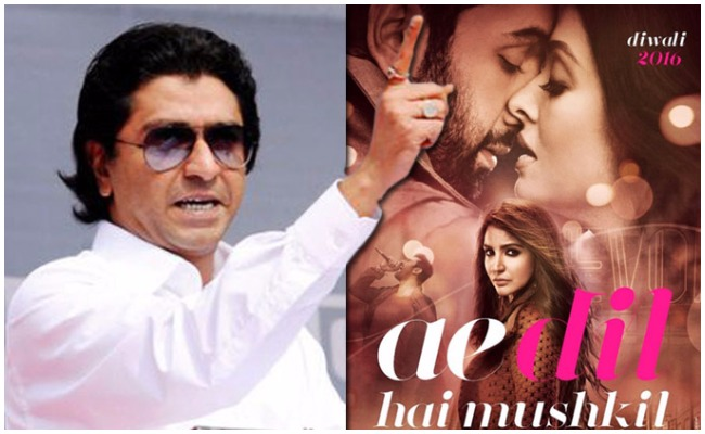 MNS Chief Raj Thackeray Allows Safe Release of Karan Johar's Ae Dil Hai Mushkil