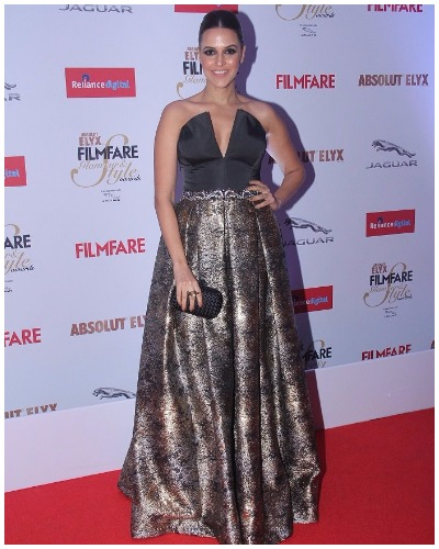 Neha Dhupia at Filmfare Glamour and Style Awards 2016