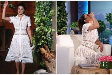 Bottoms Up: Priyanka Chopra Downs Tequila Shot on The Ellen DeGeneres Show