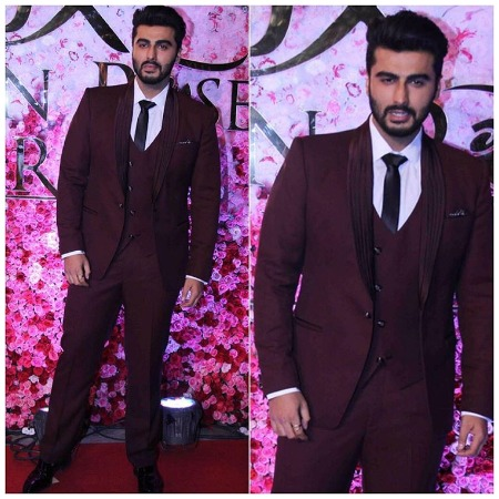 Arjun Kapoor at Lux Golden Rose Awards Red Carpet