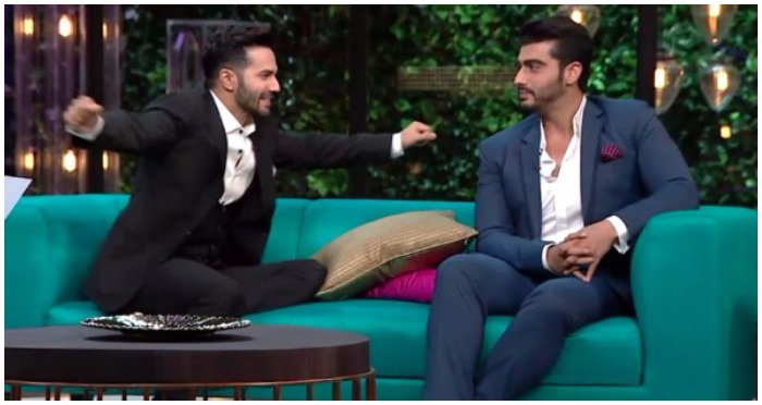 Koffee With Karan 5: TOP 5 Weird and Bold Confessions Made By Varun Dhawan and Arjun Kapoor