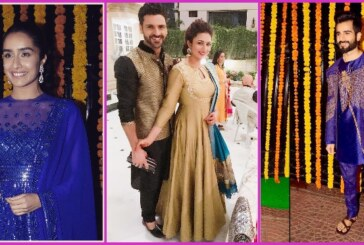 Divyanka-Vivek, Krystle D'Souza, Shraddha Kapoor and Others Looked Gorgeous at Ekta Kapoor's Diwali Celebration!