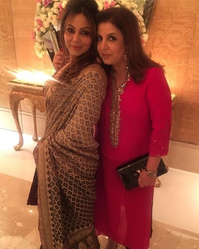 Farah Khan at Ambani star studded bash