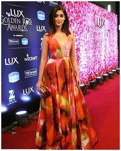 Illeana at Lux Golden Rose Awards Red Carpet