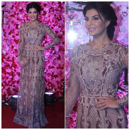 Jacqueline at Lux Golden Rose Awards Red Carpet